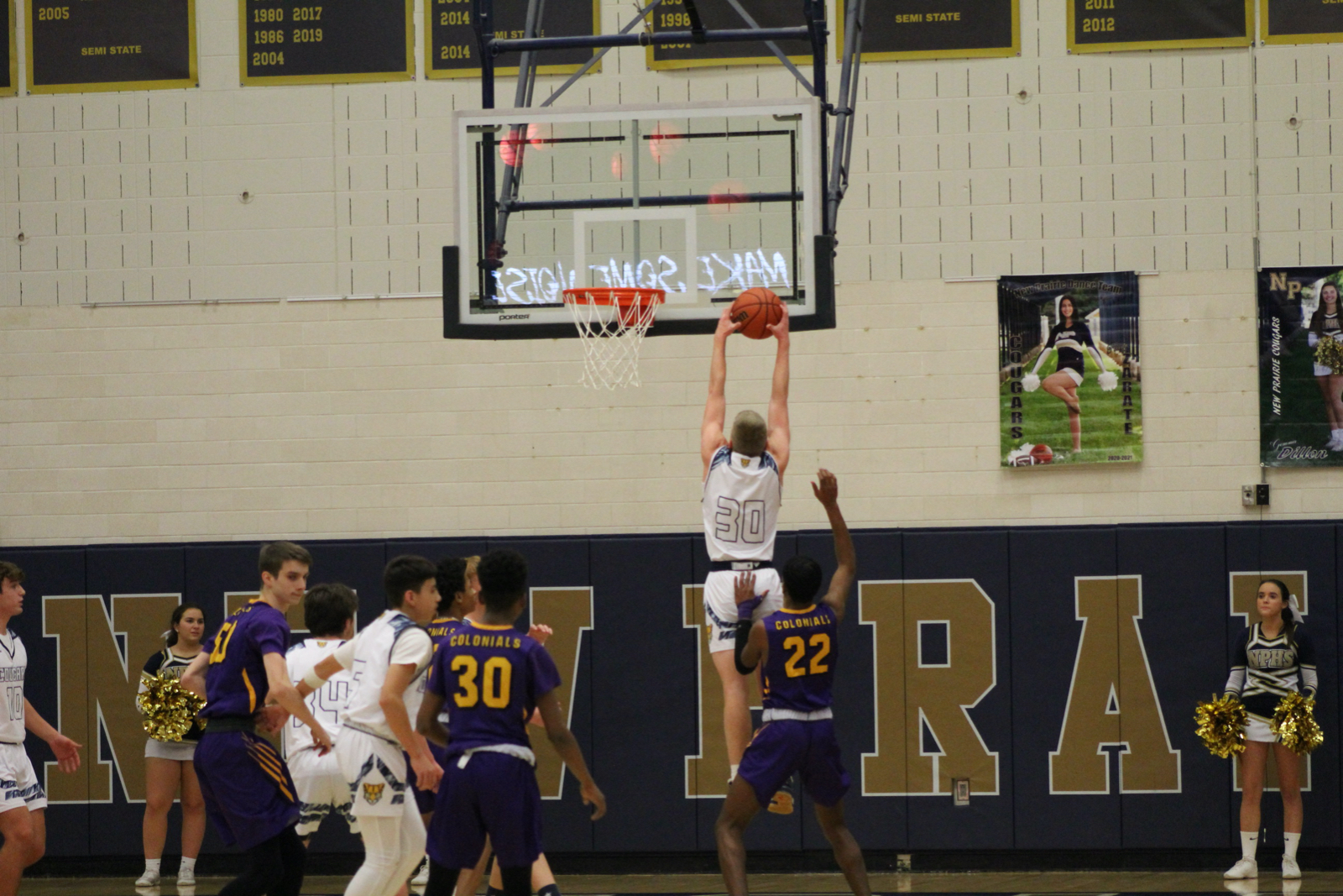 Boys JV Basketball vs. South Bend Clay 2/19/2021 (Photo Gallery)