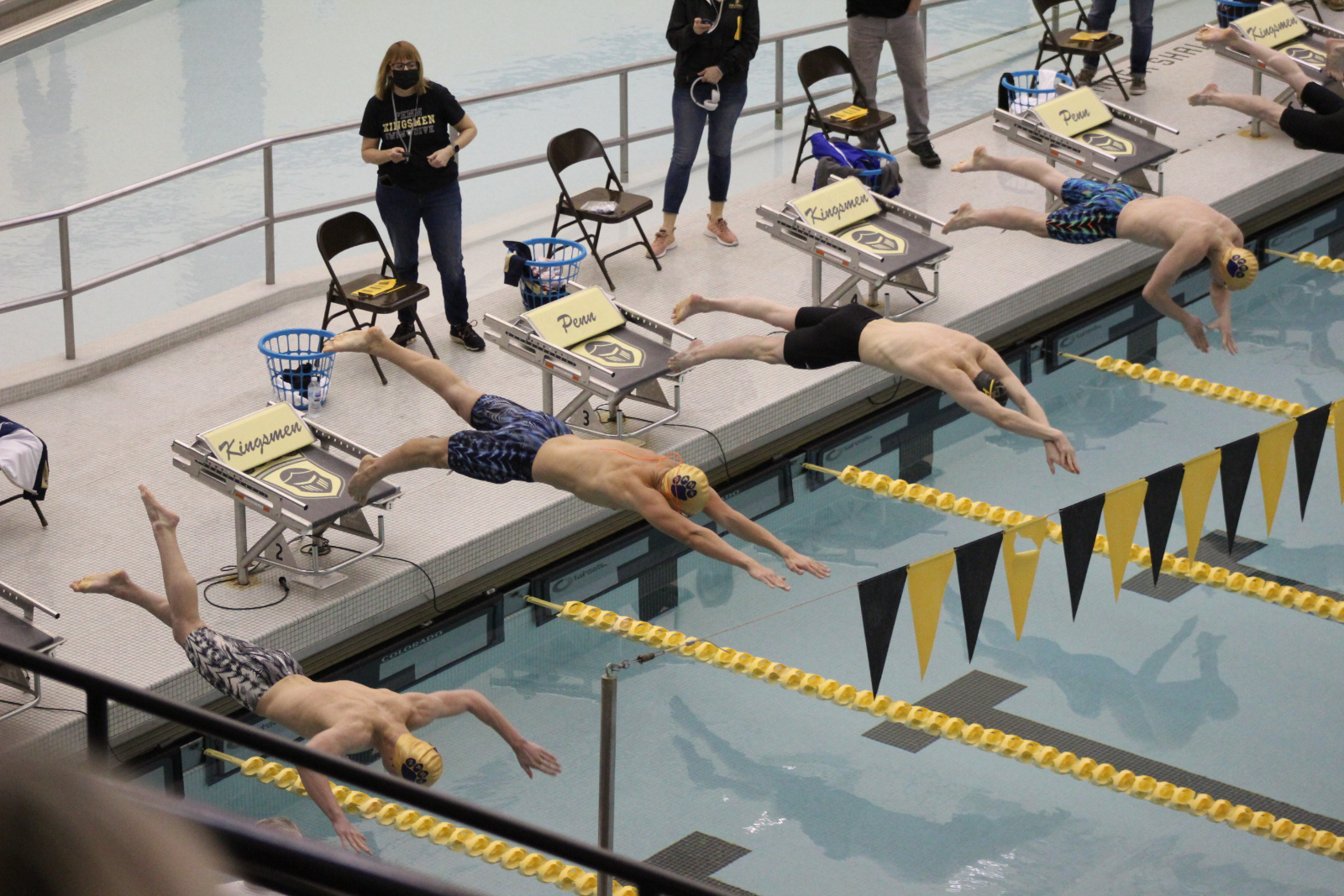 Boys Swimming @ IHSAA Sectional Finals 2/20/21  (Photo Gallery 1 of 2)
