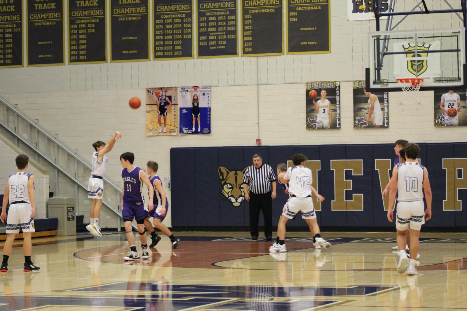 Boys JV Basketball vs. Elkhart Christian Academy 2/23/2021 (Photo Gallery)