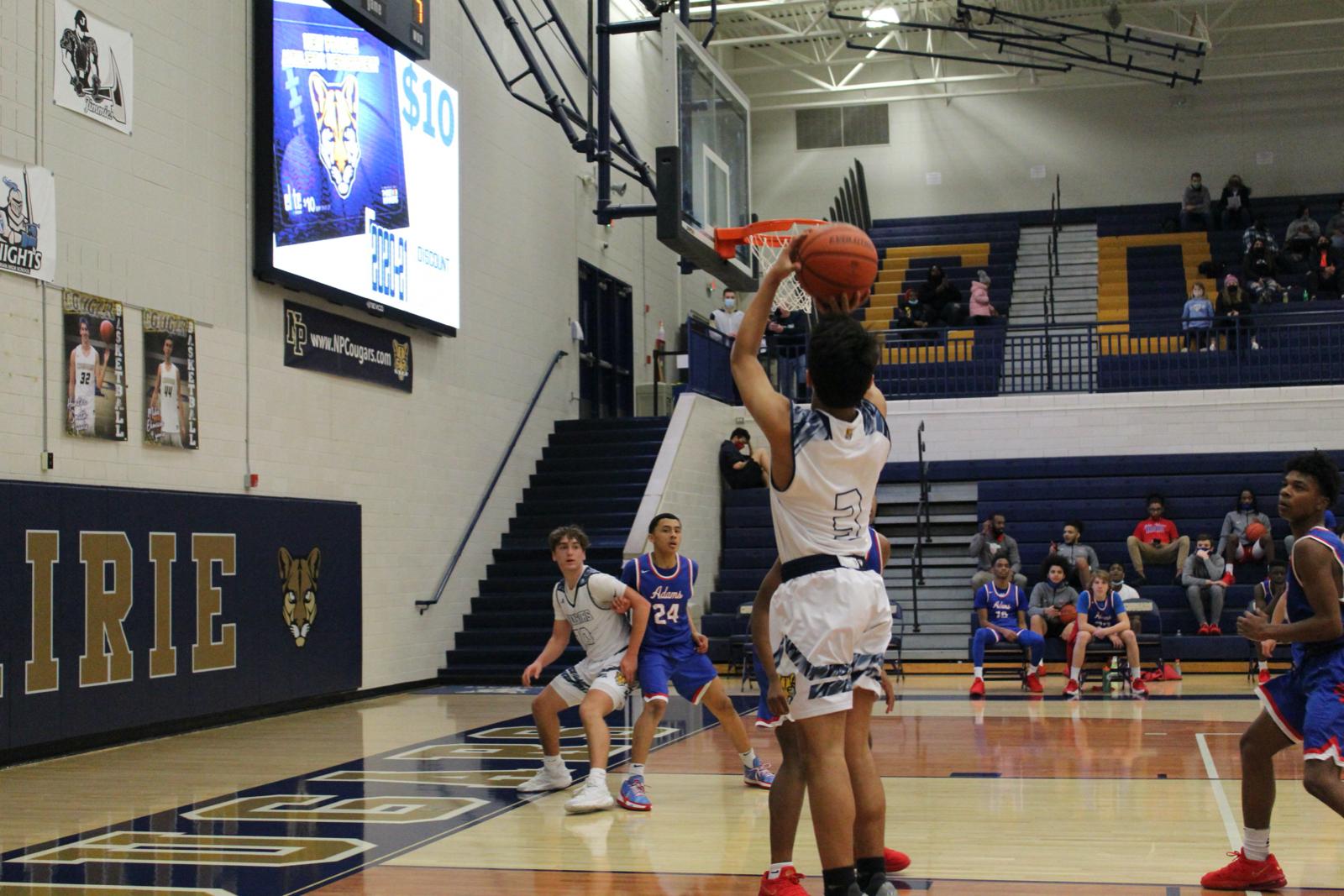 Boys JV Basketball vs. South Bend Adams 2/26/2021 (Photo Gallery)