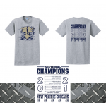 Orders due TODAY:  Sectional Champions T-Shirts available!