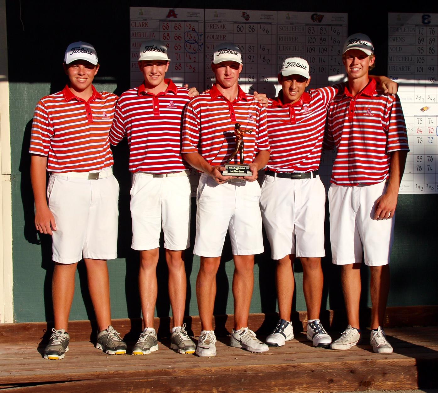 Boys Golf – Dobson Ranch Invitational Champions!
