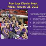 Congratulations to LBJ Swimming Teams:  Boys 1st in District & Girls 2nd in District