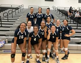 Varsity Girls Volleyball – Grand Terrace Classic Champions