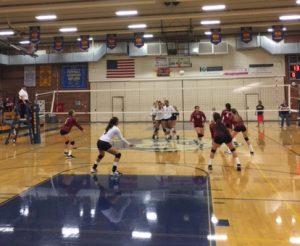 Girls Varsity Volleyball vs Arlington on 9/21/17
