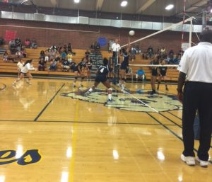 Girls Volleyball vs Canyon Springs 9/26/17