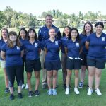 Girls' Golf team defeated Canyon Springs and Vista Del Lago yesterday. Low round of the match was Gabrielle Genovea