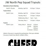 PEP SQUAD TRYOUTS