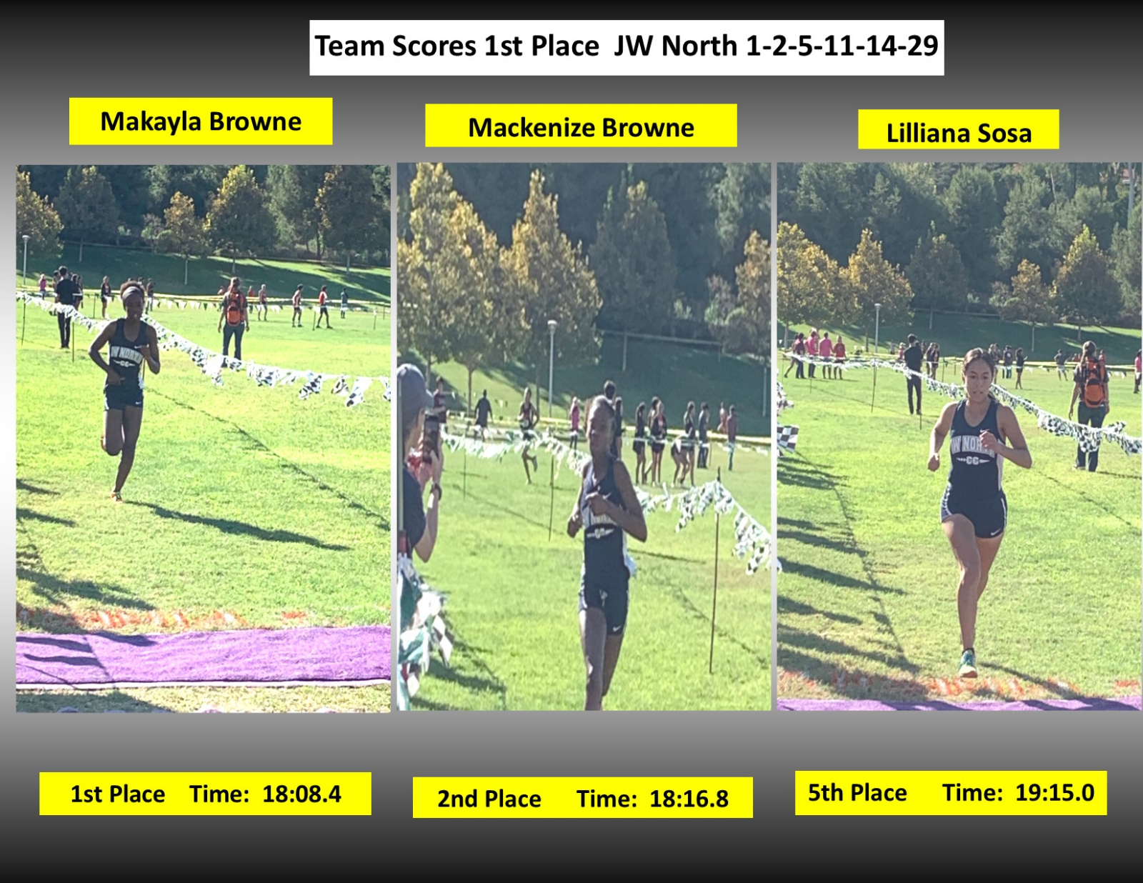 Cross Country Powerful Competition!