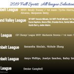 North fall seasons ends with many All league Selections