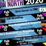 CIF Winter Playoffs News for North