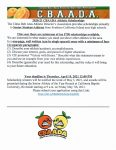 2021-21 CBAADA Athletic Scholarships