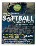 Softball Summer Camp 2021