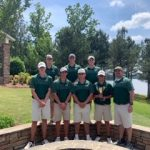 Boys Varsity Golf finishes 2nd place at Boys Area Tournament