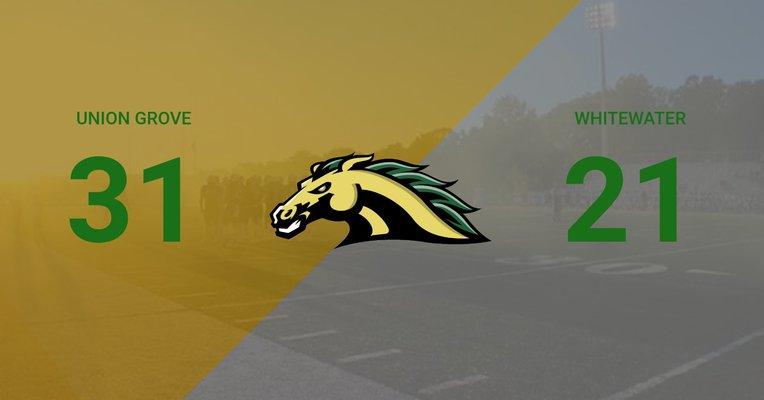 Ola Mustangs beat Whitewater 31-21 Friday 9/6
