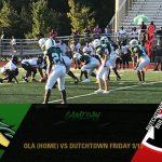 Ola vs Dutchtown Friday 9/13 at home