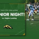 Last regular season football game – Senior Night!