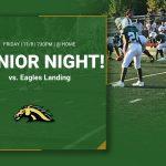 Last regular season football game – Senior Night!