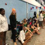 Ola Varsity Girls Swim team