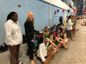 Ola Varsity Girls Swim team