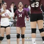 Girls Varsity Volleyball photos