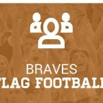 The Varsity Lady Braves Flag Football lost to Evans, 22-0