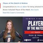 Girls Volleyball Sweeps Wekiva for their Season Opener