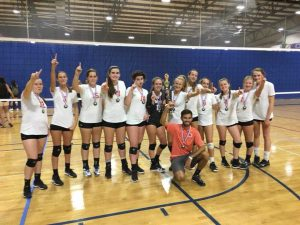Girls Volleyball 2018