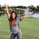 Dina Rami Places 2nd in Regionals For Girls Golf