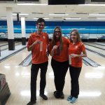 Bowling Places 2nd and 3rd Overall; Boys Team and Ashley Reid Move on to States