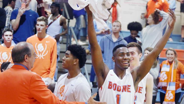 Boone Basketball Took on the State Champions and Wins!