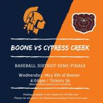 Come Out To Support Baseball in Semi-Finals!