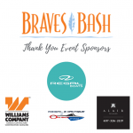Thank You To Braves Bash Sponsors!