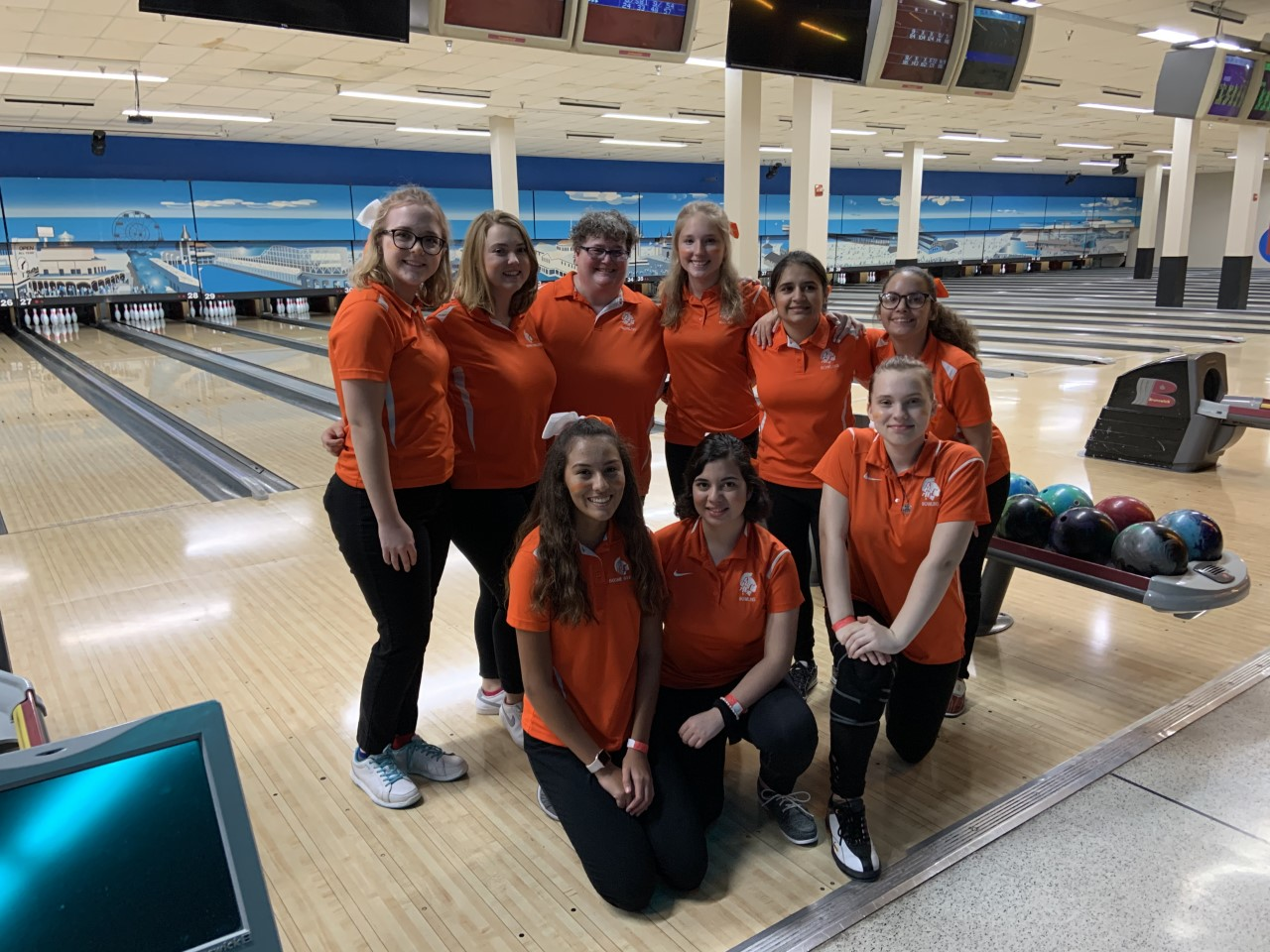 Girls Bowling Moves On To States! Placing 2nd at District Tournament