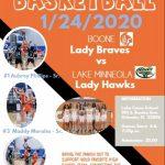 Lady Braves Basketball Vs Lake Minneola At Lake Como School