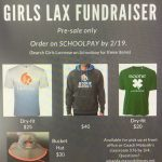 Girls Lacrosse Fundraising Items