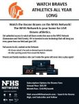 Live Streaming Option for Field and Gymnasium Events