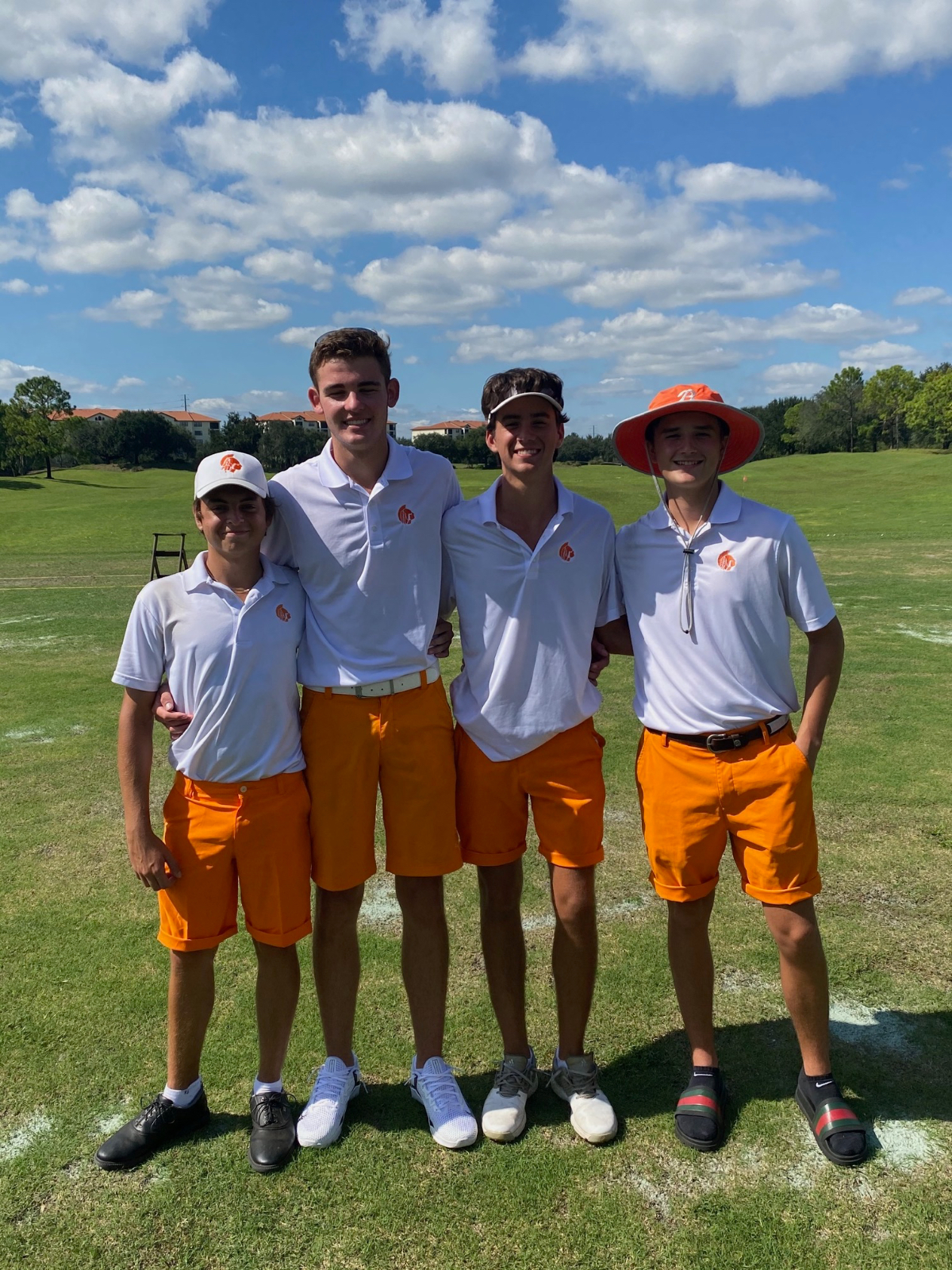 The boys golf team placed 3rd at the 3A District 5 Tournament