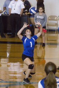 Freshmen Volleyball – Action Photos