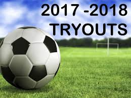 Official – Soccer tryouts information
