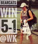 Lady Bearcats win at White Knoll – 5-1