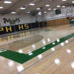 New Gym Floor Complete!
