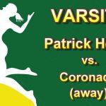 Girls Varsity Volleyball Away Match vs Coronado