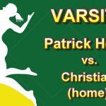 Girls Varsity Volleyball Home Match vs Christian