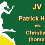 Girls JV Volleyball Away Match vs Christian