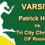 Girls Varsity Volleyball vs Tri City Christian CIF Round 1