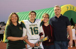 Homecoming Football – Senior Player Families – 2017