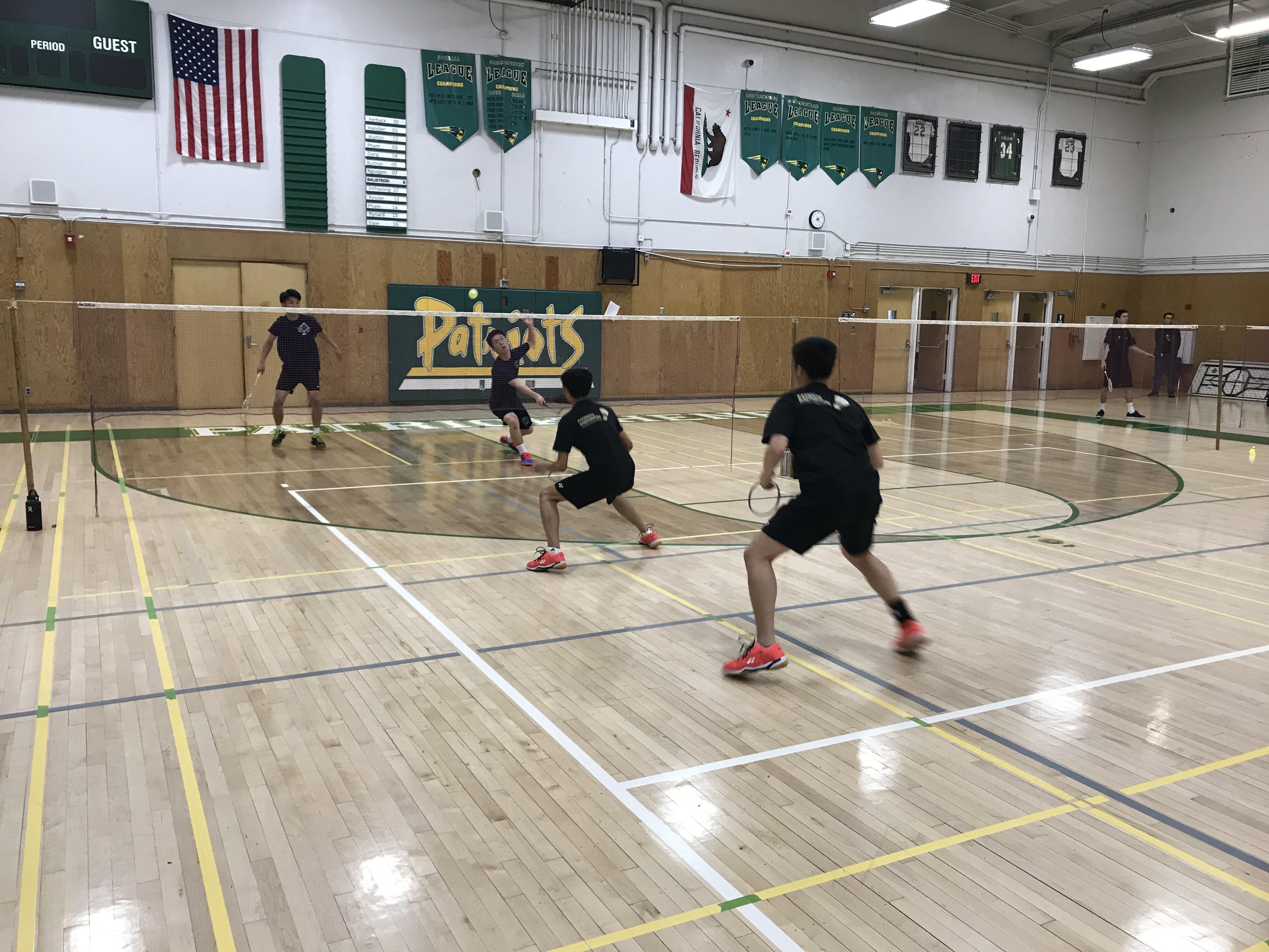 Badminton beats UCHS 11-6