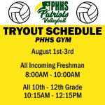 2018 Volleyball Tryouts