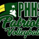 Girls Volleyball Practice Schedule Week of August 5